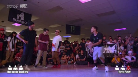 【5BBOY】Renegade Rockers vs Rock Force (Finals) ► .stance x UDEFtour.org ◄