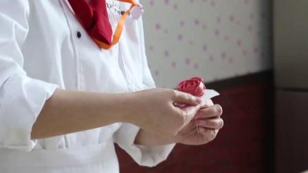 韩式裱花花篮蛋糕