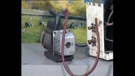 空调维修培训正版视频教程全集3-4抽真空