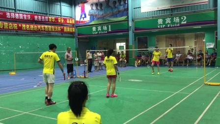 宝沃杯混双vs陈涛2
