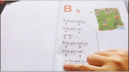 拼读童谣 教唱视频-B