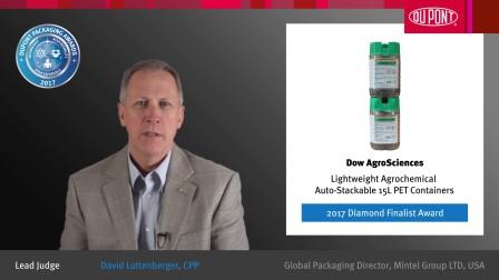 15L轻质可持续性农用化学品自动堆叠式PET容器 - 2017钻石奖入围奖得主