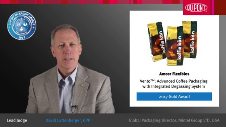 Vento™:带有内置集成性脱气系统的先进咖啡包装 - 2017金奖得主