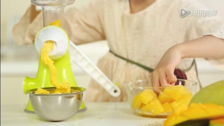 果语榨汁机怎么做冰淇淋?果语zibuhui榨汁机食谱
