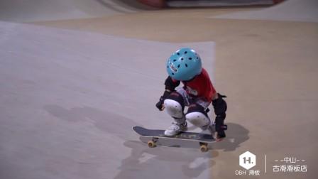 DO BY HEART九岁赞助滑手陈烨惊艳香港将军澳滑板场!