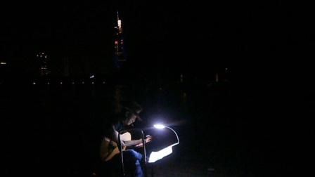 170720THU 吉他指弹练习 TONY大叔 环洲 月季园 湖畔木道 玄武湖 南京 (7)
