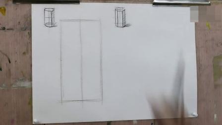 怎样画油画,免费油画教程建筑风景速写_水彩人物_素描几何教学视频怎样学素描