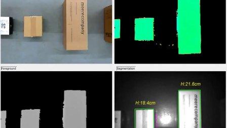 利用TOF相机进行体积测量