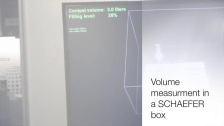 利用tof相机进行容积、体积检测