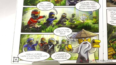积木砖家乐高Lego Ninjago Movie_ Garmadon Attack! Activity Book with Cole Minifigure