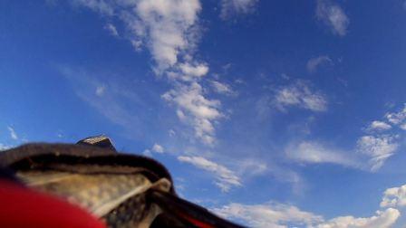 自制kt板飞翼挂载运动相机航拍