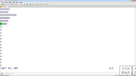 Linux(centos)-VIM编辑器的命令模式