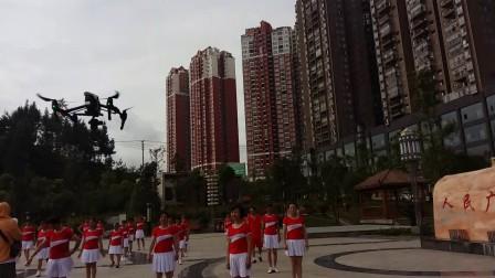 正安县人民广场传敏健身队