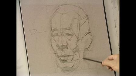 素描静物书法高考美术培训班色彩构成视频教程