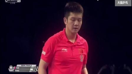 方博干的不错-2017卡乒赛方博vs樊振东【完整版】