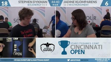 SCGCIN_-_Round_15_-_Stephen_Dykman_vs_Jadine_Klomparens_Standard