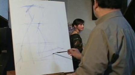 油画入门基础教程 油画教程初学视频
