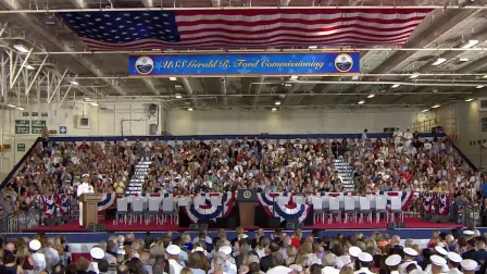 USS Gerald R. Ford Commissioning