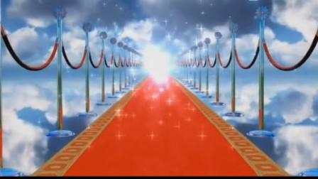 虚幻唯美天空颁奖庆典红地毯粒子光效LED舞台