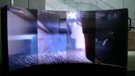 vofrid沉浸式裸眼显示屏-极品飞车体验
