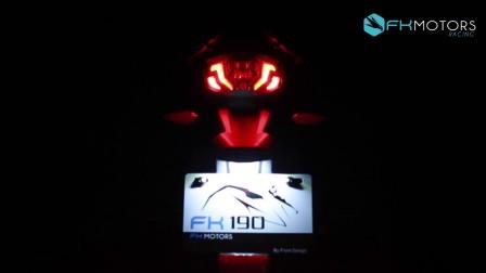 FK摩托车创意广告短片