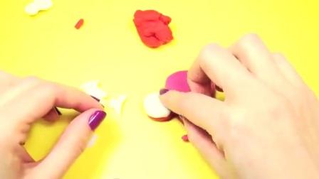 趣玩具橡皮泥玩具做做小猪佩奇