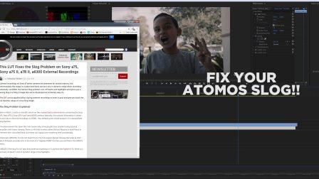 ATOMOS Ninja Flame+Sony A7s2在4K模式下8Bit与10Bit的对比