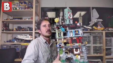 【鉴赏】LEGO乐高 幻影忍者 70620忍者都市之城LEGO NINJAGO