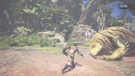 《怪物猎人世界》武器介绍动画:双刀