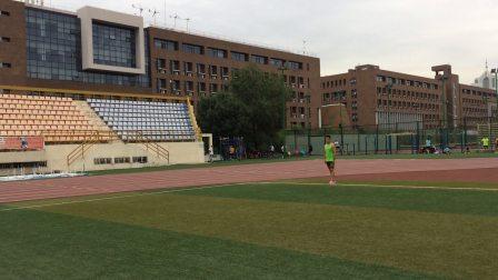 中长跑马拉松专项动作训练示范-后蹬跑-于文仲教练解说
