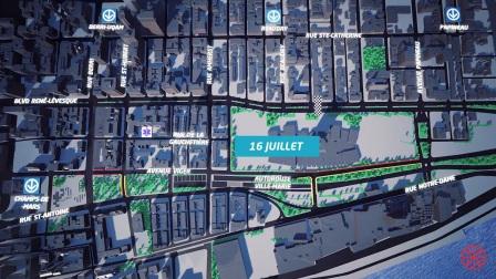 FE电动方程式 | 2017蒙特利尔站赛道3D演示