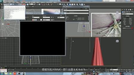 [自制展示]全职高手千机伞3d模型制作过程,千机伞下好乘凉╮( ̄▽ ̄)╭