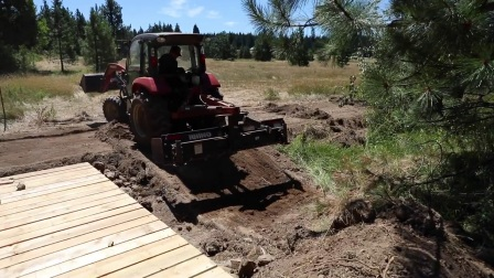 How To Build A Bridge Over A Creek For A Tractor 8