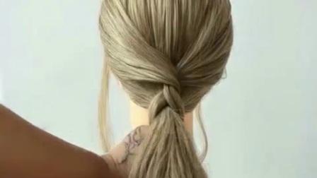 教你最简单的发型
