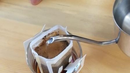 啡°樂咖啡-挂耳包冲泡(三)冲泡过程