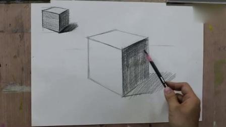 初学素描素描风景画入门_服装设计素描入门_儿童铅笔画色彩构成视频教程