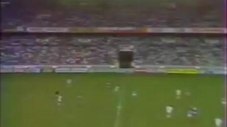 1988欧洲杯预选赛法国对冰岛上半场(普拉蒂尼国家队告别赛)