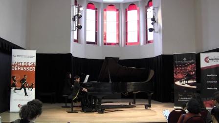 加拿大全国音乐比赛7岁的Chenjie Jayjay Zhou获得第3名