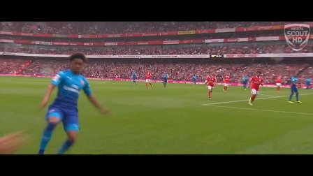 Reiss Nelson Vs Benfica 29-7-2017