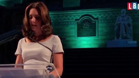 凯特王妃在伦敦自然历史博物馆的演讲