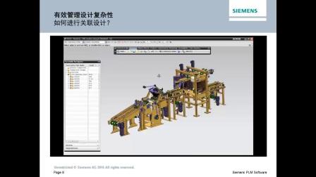 Siemens PLM Software NX 用于工业机械的高级机械工程设计
