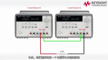 台式电源自动串联/并联,Keysight E36300 系列