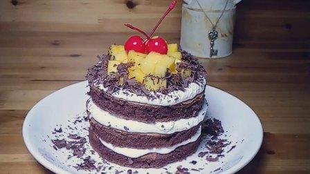 《止生此逢》咸奶油芒果裸蛋糕,咸咸的奶油搭配甜蜜的芒果,让你的味觉跳起舞来吧!