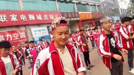 港泰沧州美容美发化妆学校早操舞蹈部分
