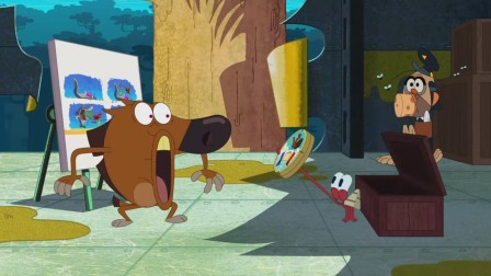 鲨鱼哥与美人鱼第二季-口臭-动画-动漫-卡通短片