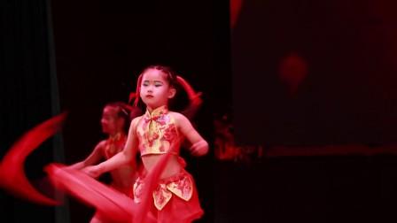 舞蹈《说唱中国红》米脂县 镇子湾小苹果艺术培训中心
