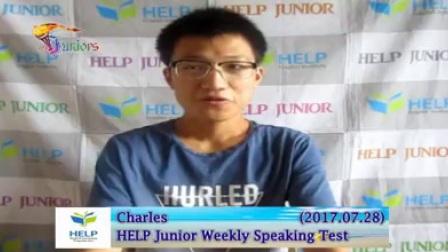 查尔斯(2017.07.28)HELP初级每周测试