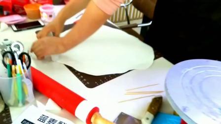 优酷翻糖蛋糕抹坯包面 造型装饰全程解说