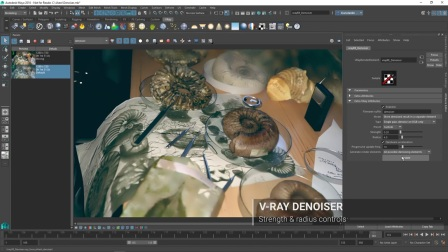 V-Ray 3.4 for Maya Denoiser 降噪器