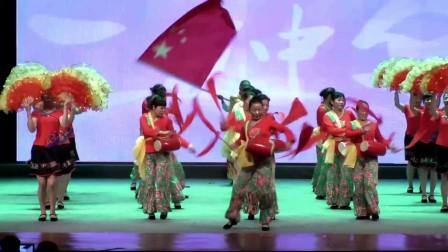 夕阳梦广场舞:沒有共产党就沒有新中国.